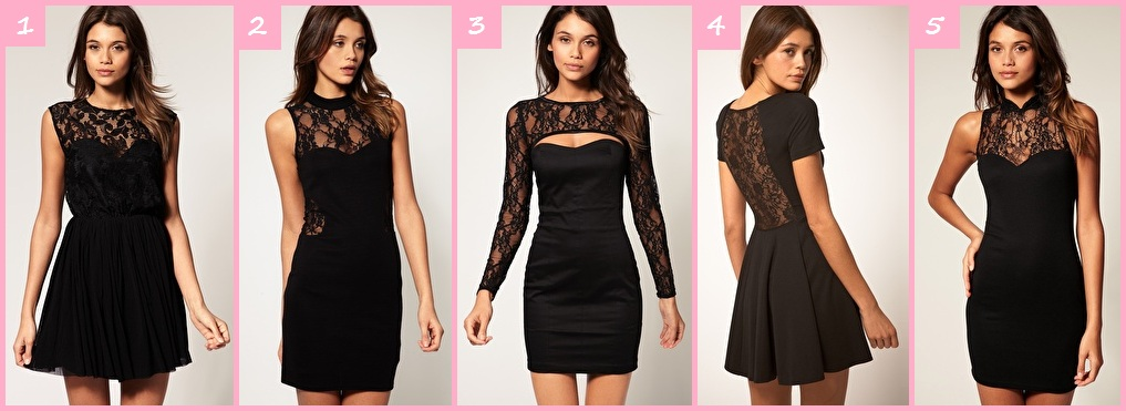 Модель платья коктейльных