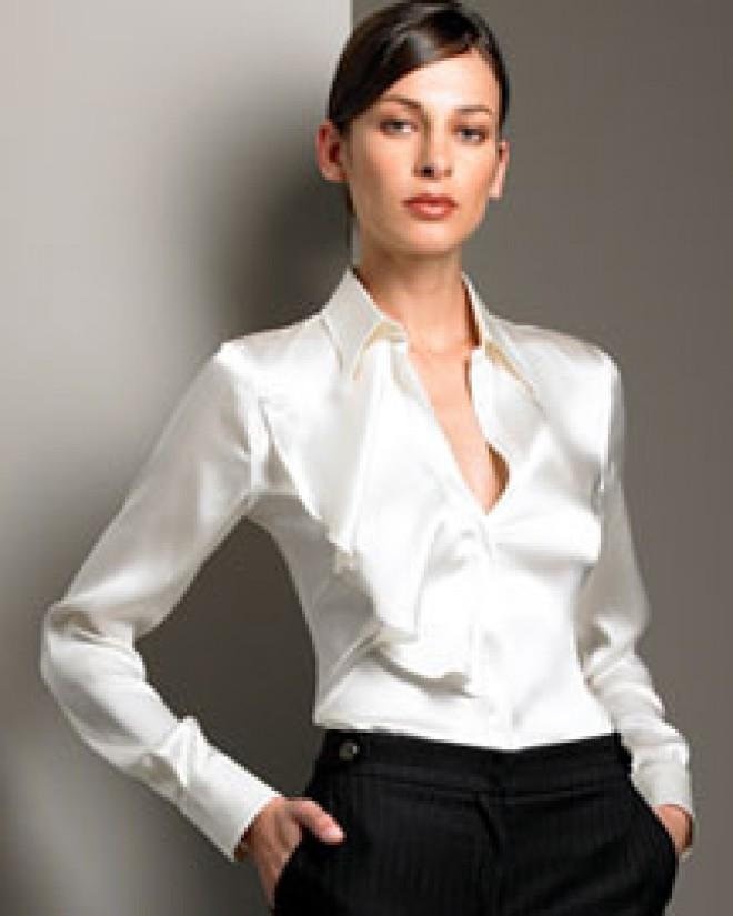 silky blouse1